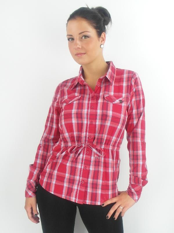 Original O'Neill BLOUSE SHIRT Yucca Red Checkered Collar ...