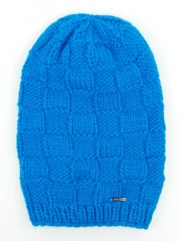 Knitting Pattern Long Beanie : ONeill Knitted cap Long Beanie Winter hat Square blau ...