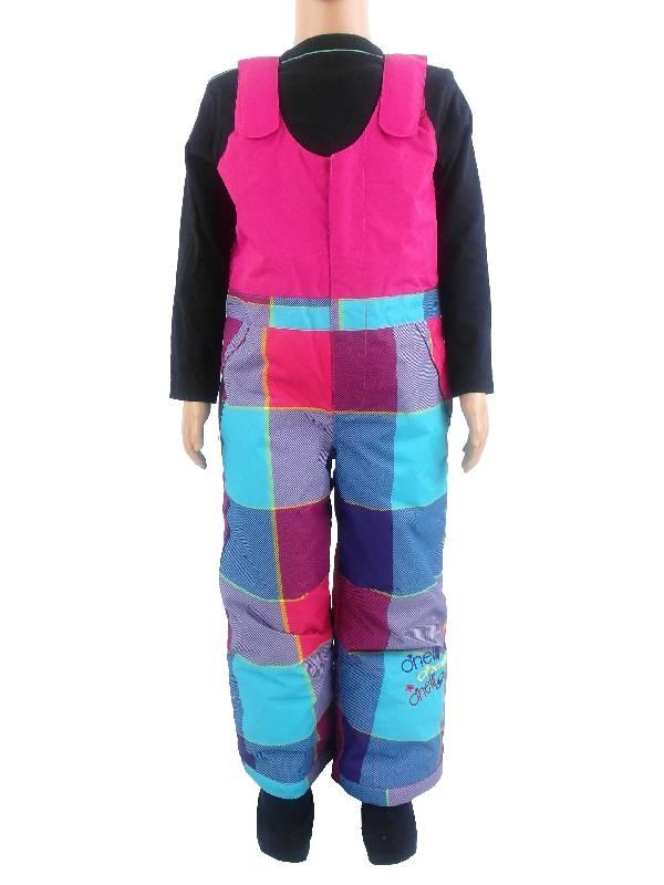 O 39 neill pantaloni da sci salopette rosa celeste fuga serie - Fuga impermeabile ...