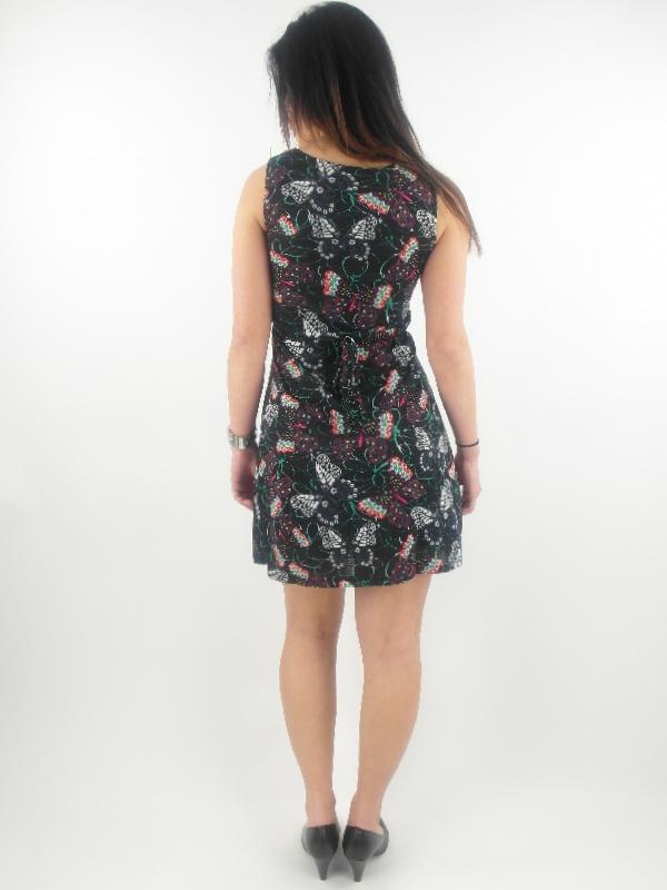 original Yumi Kleid Sommerkleid K-1796 schwarz Stickerei ...