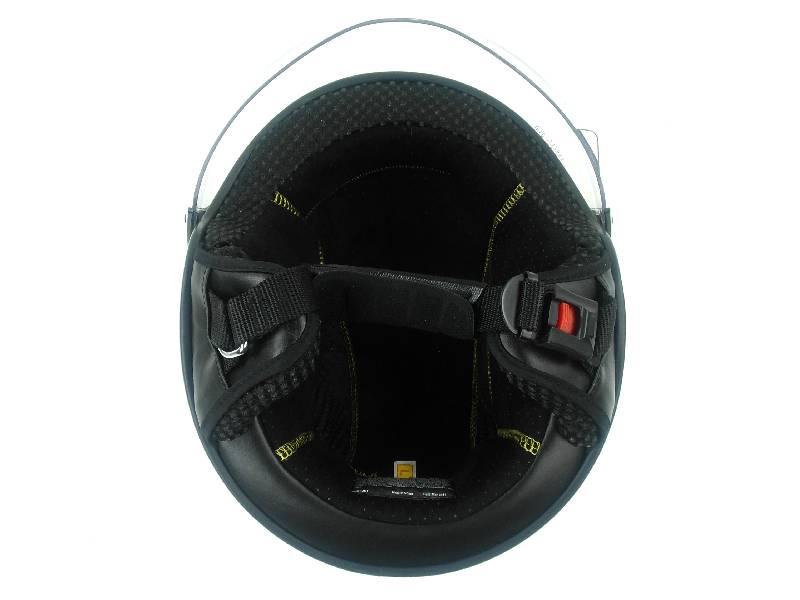freegun casque de ski de snowboard jet duck noir plastron