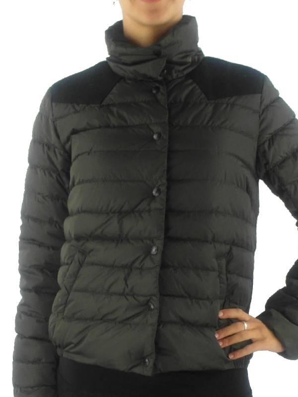 maison scotch daunenjacke steppjacke jacket gr n stehkragen wolle ebay. Black Bedroom Furniture Sets. Home Design Ideas