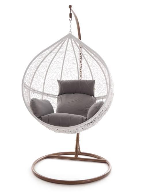swing chair h ngesessel h ngestuhl polyrattan schwebesitz. Black Bedroom Furniture Sets. Home Design Ideas