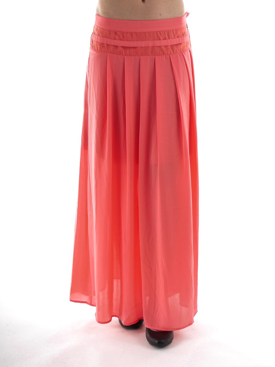 maxi skirt pleated skirt davis maxi coral zip