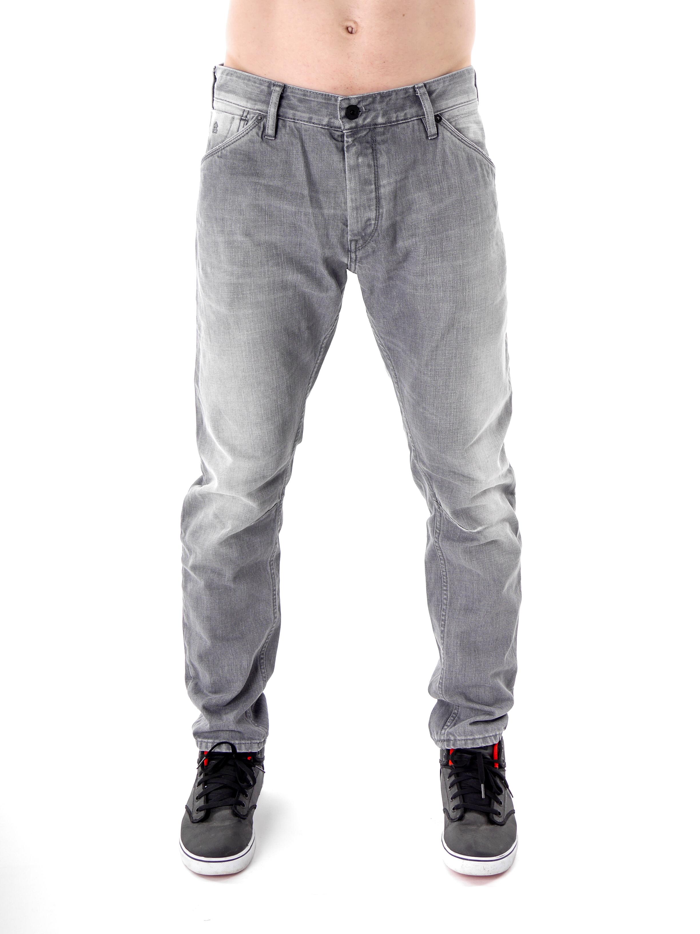 scotch and soda jeans hose duke grau 5 pocket knopfleiste. Black Bedroom Furniture Sets. Home Design Ideas