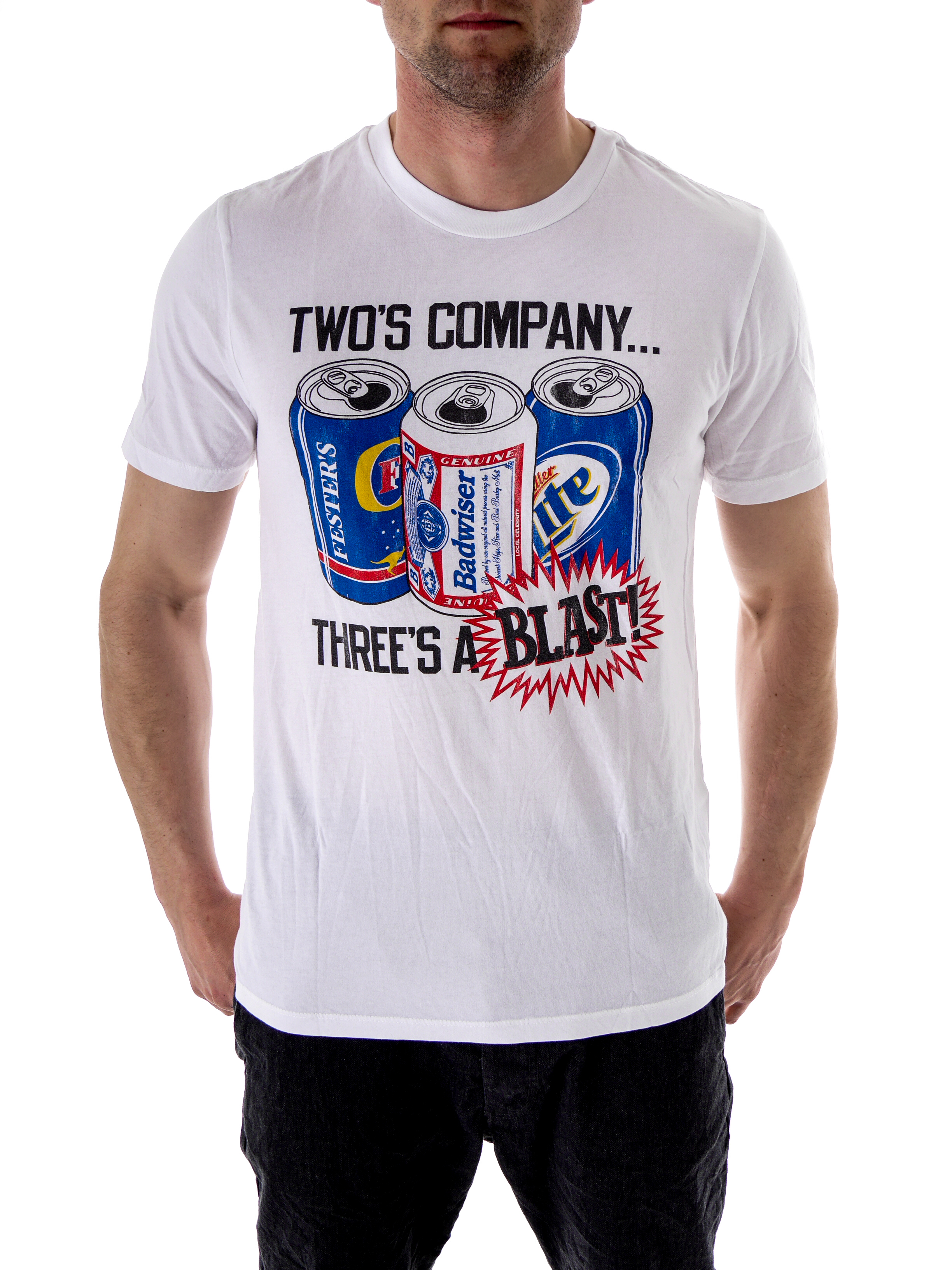 local celebrity t shirt tee shirt white who s company