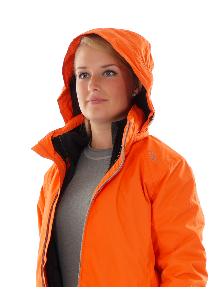 cmp outdoorjacke funktionsjacke 3in1 jacke rot climaprotect isoliert ebay. Black Bedroom Furniture Sets. Home Design Ideas
