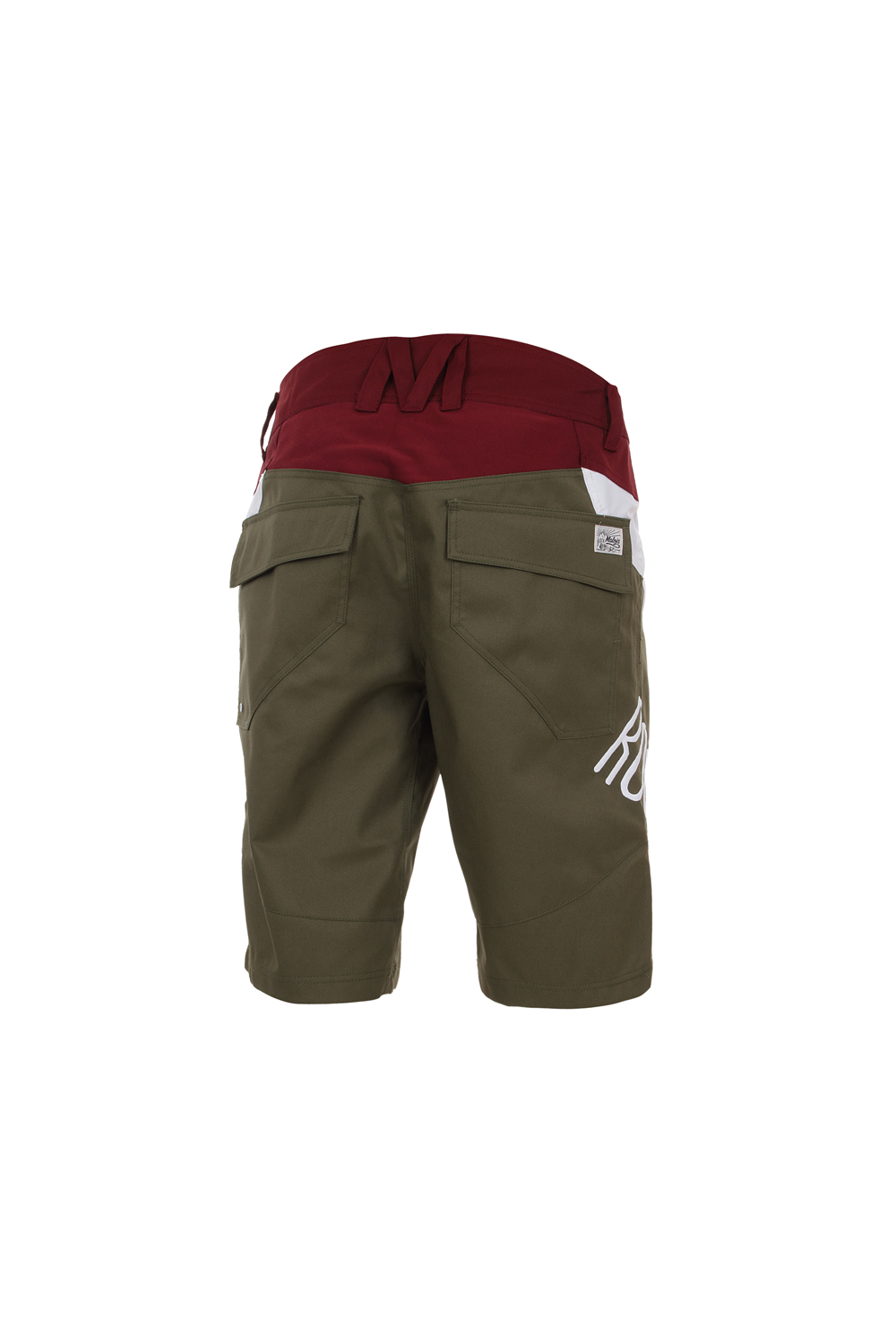 maloja radhose freeride shorts goldiem gr n canvas mesh. Black Bedroom Furniture Sets. Home Design Ideas