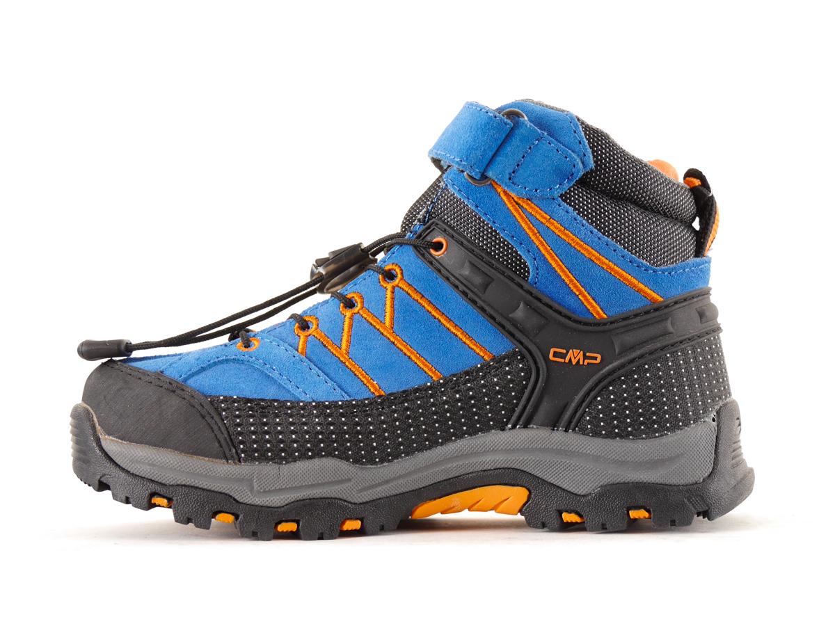 CMP Wanderschuh Trekkingschuh blau waterproof Textil Schnellverschluss