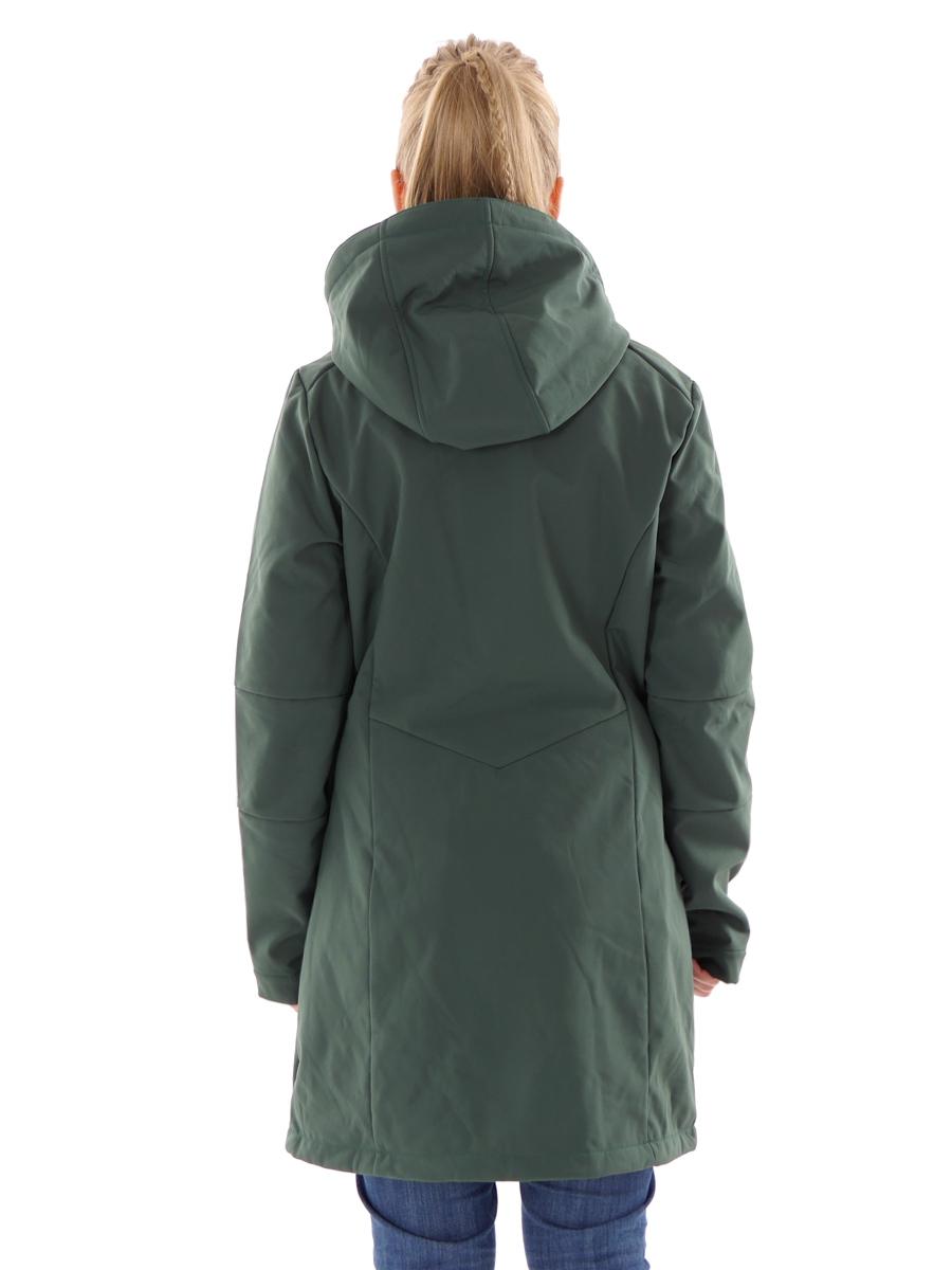 CMP Softshelljacke Funktionsjacke Mantel grün Stretch ClimaProtect®