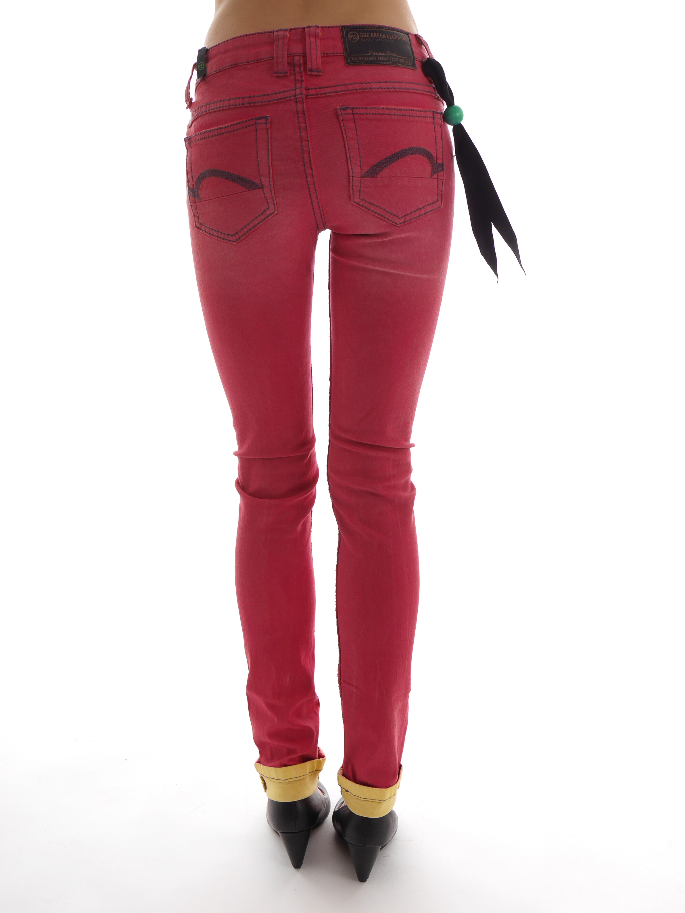one green elephant jeans trousers memphis o1776 rot skinny. Black Bedroom Furniture Sets. Home Design Ideas
