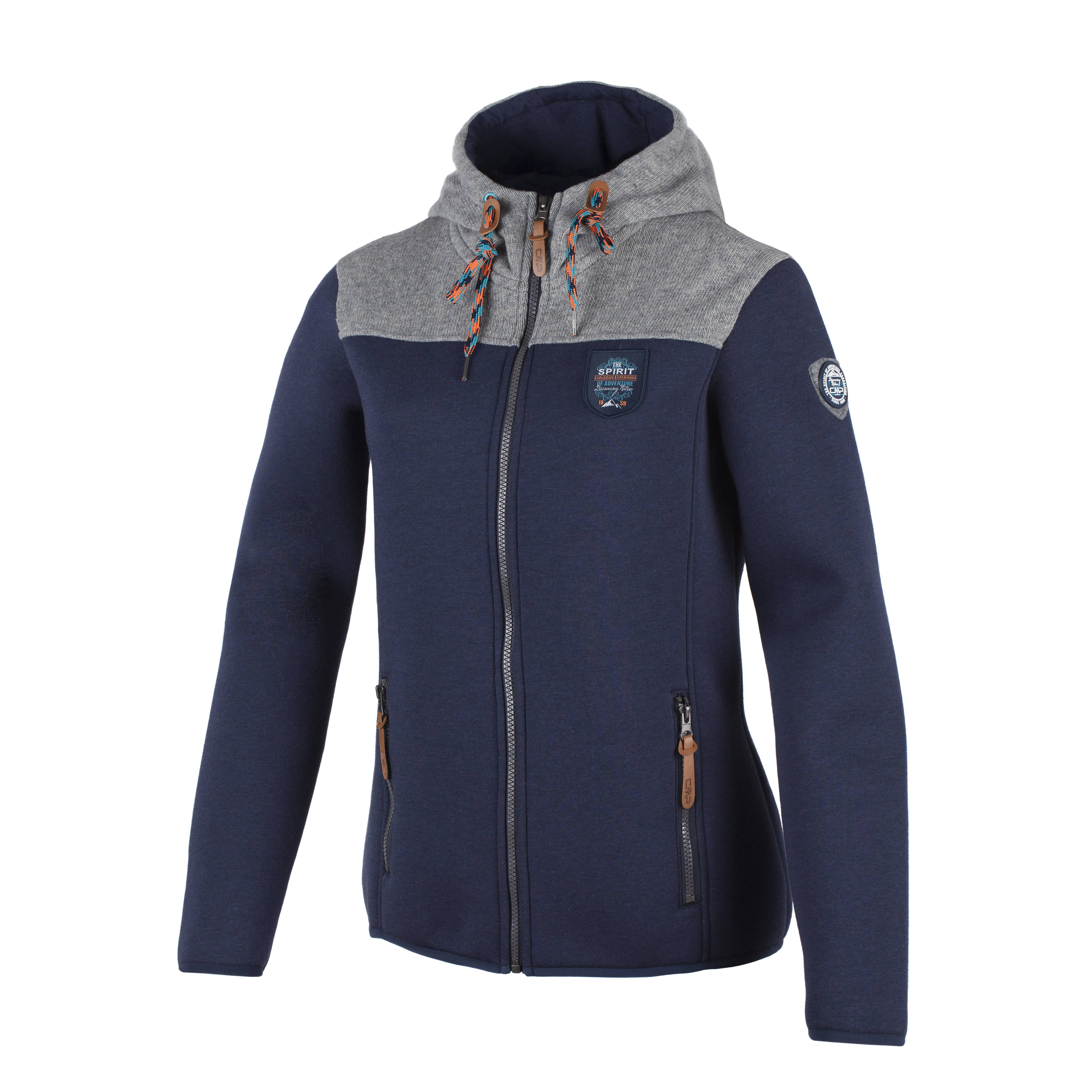 CMP-chaqueta-polar-de-entretiempo-funcional-Blau-SUPER-LIGERO-calido