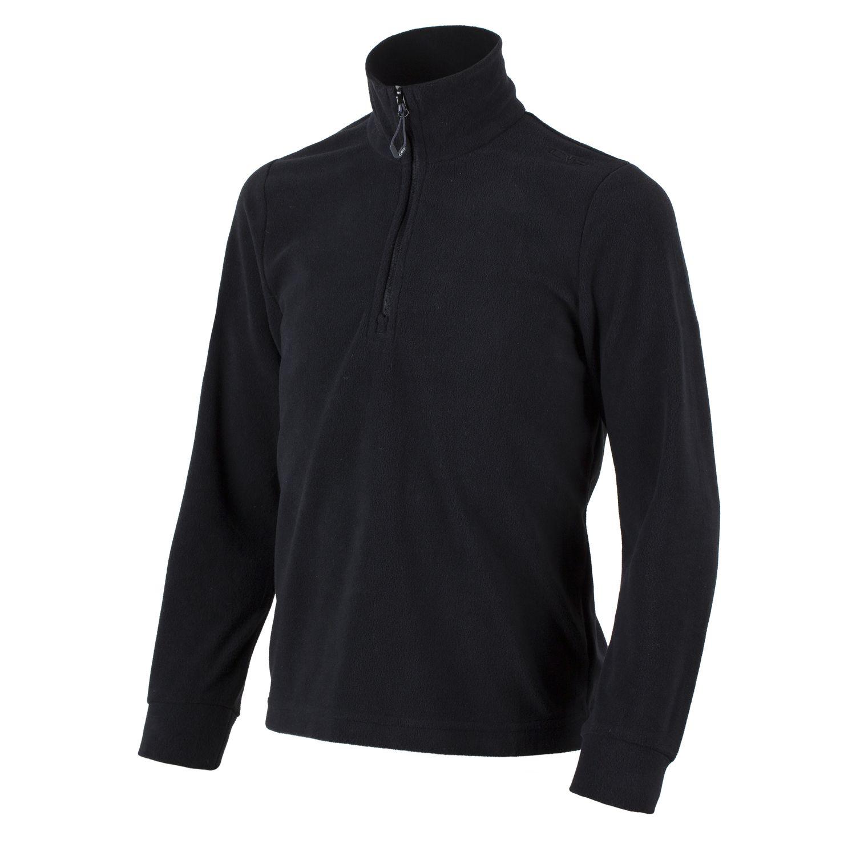 cc899033287b CMP Fleece Upper Part Functional Sweater Black Collar Insulating ...