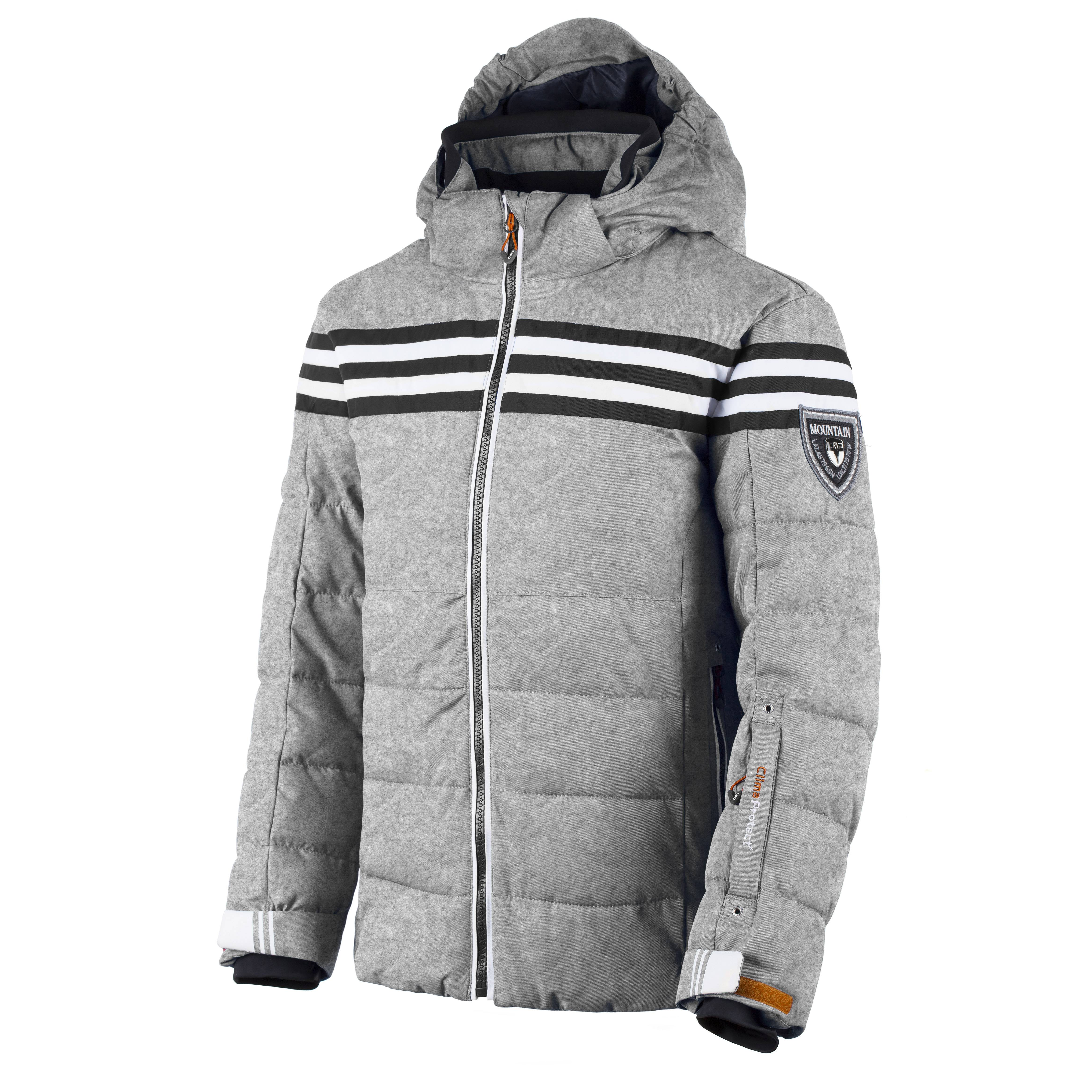 CMP-Chaqueta-de-snowboard-invierno-gris-impermeable-transpirable-abrigados