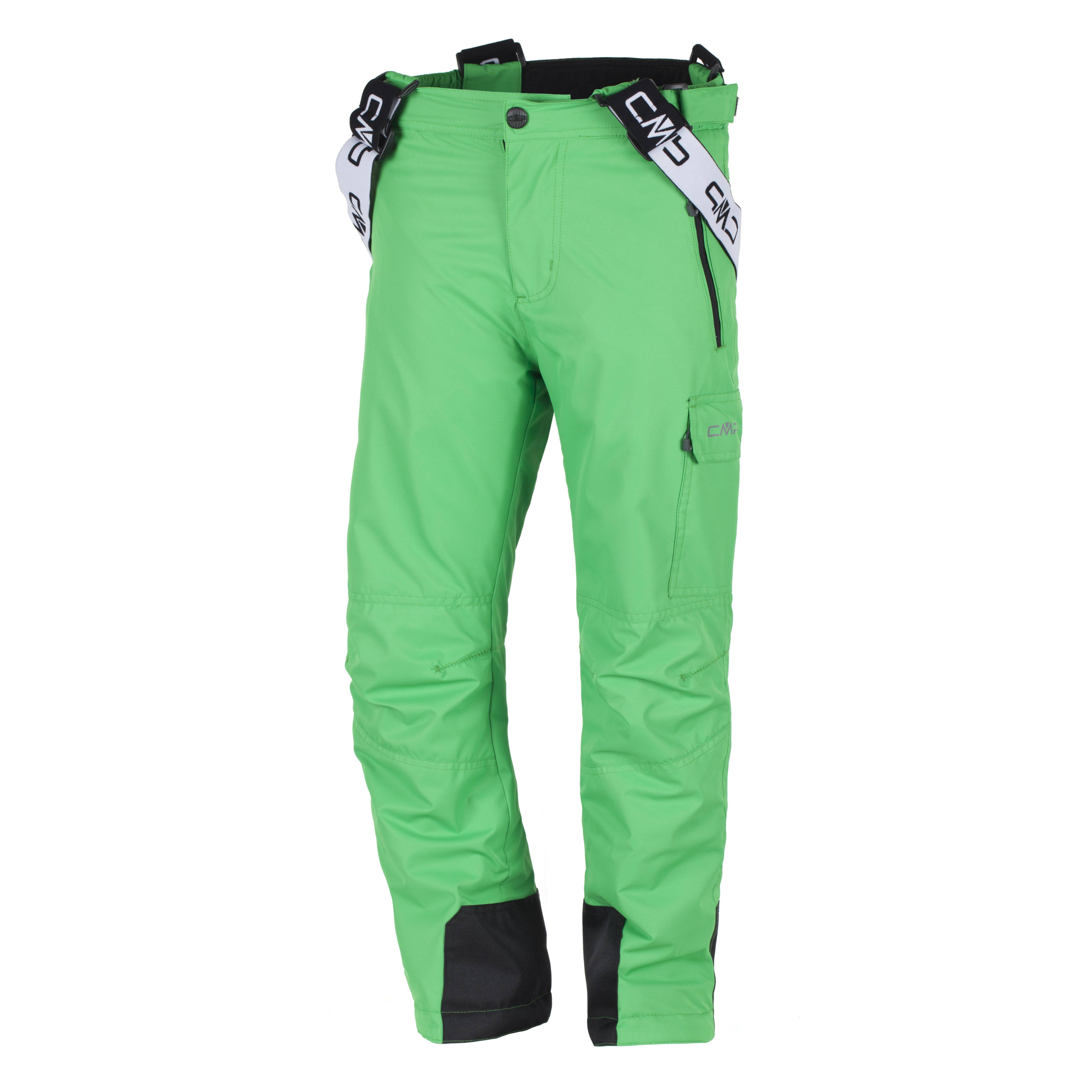CMP-Pantalones-Esqui-invierno-de-snowboard-verde-ClimaProtect-aislamiento