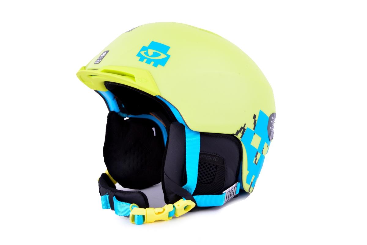 Giro Snowboardhelm Skihelm Chapter gelb neon InForm™ System Hardbody