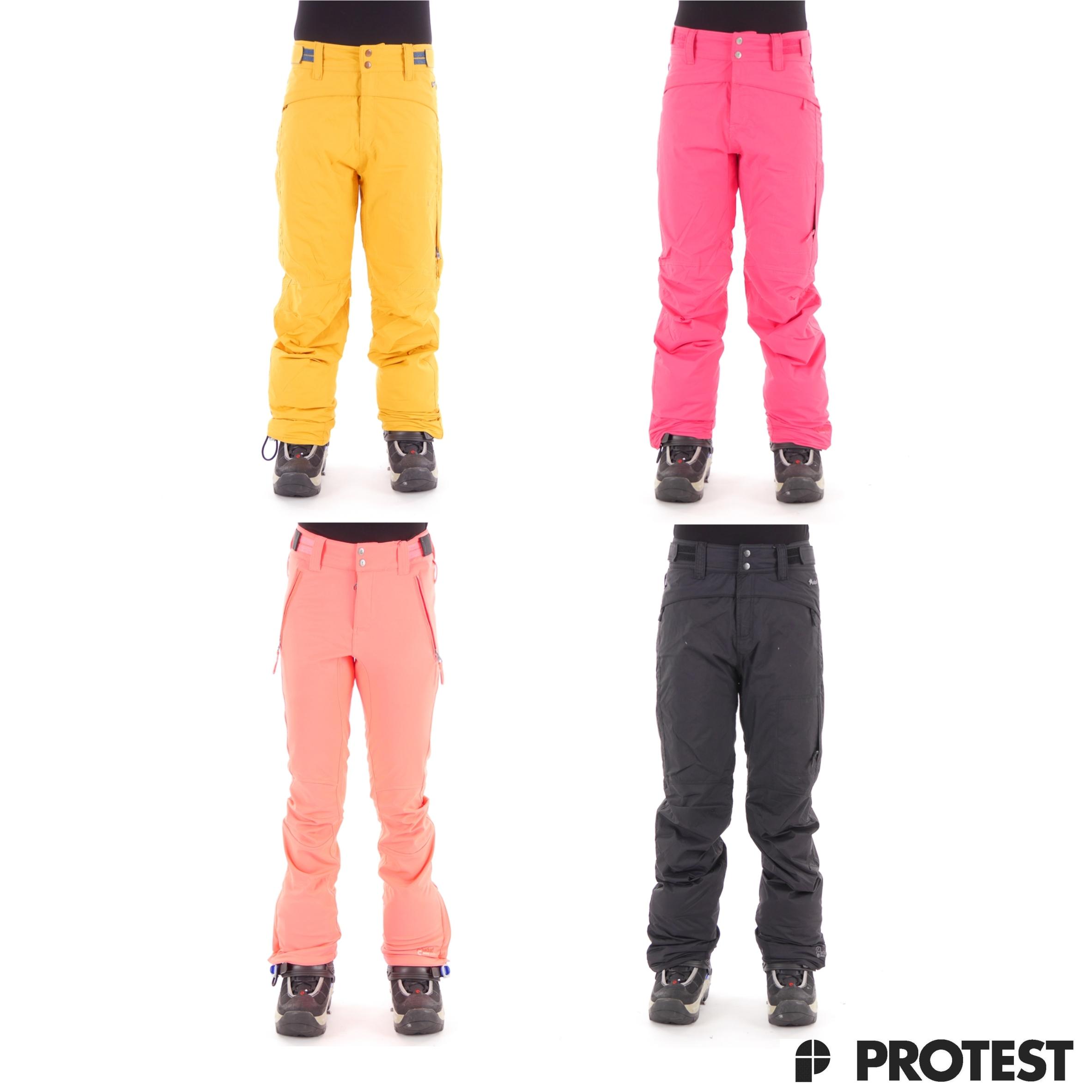 protest skihose snowboardhose damen wassers ule isolierend. Black Bedroom Furniture Sets. Home Design Ideas