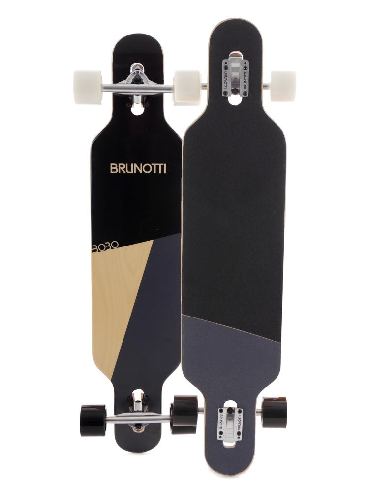 brunotti longboard komplettset downhill freeride skating holz neu. Black Bedroom Furniture Sets. Home Design Ideas