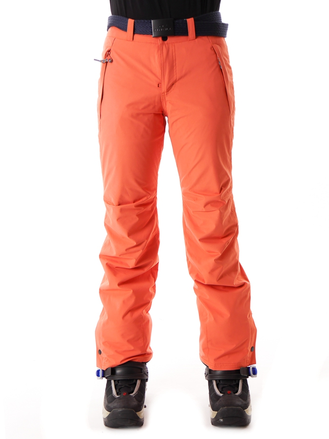 9fd196ae464 Details about O'Neill Ski Trousers Snowboard Trousers Star Orange Slimfit  Water Resistant Belt