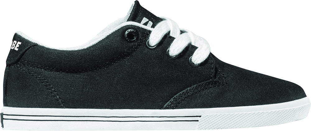 Globe Sneaker Stoffschuh Halbschuh Lighthouse-Slim Kids schwarz Gummi