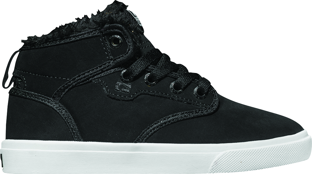 df7dae513f Details about Globe Shoes Lace Up Low Shoe Motley Mid Kids Black Warm  Padding
