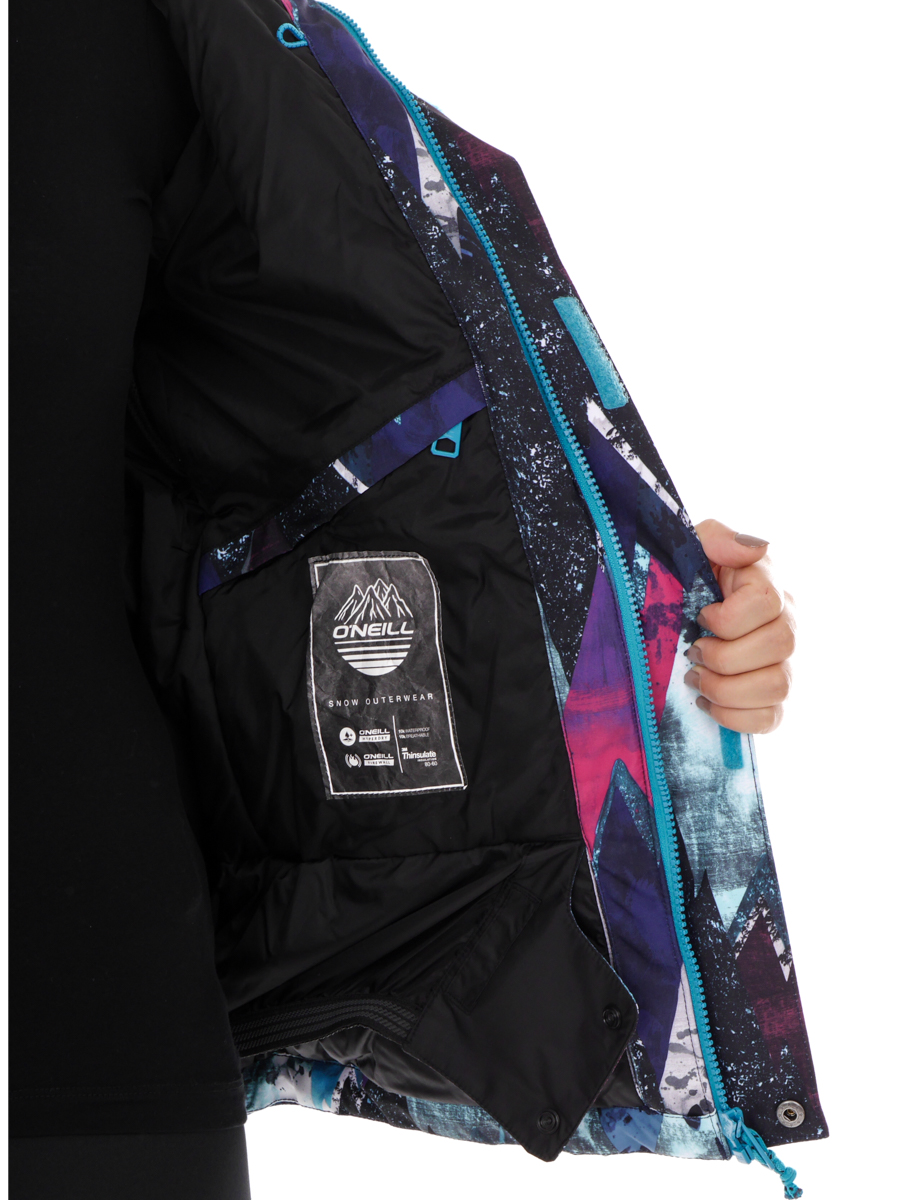 aff277b47c O Neill ski jacket snowboard jacket hooded jacket blue patrol Hyperdry warm