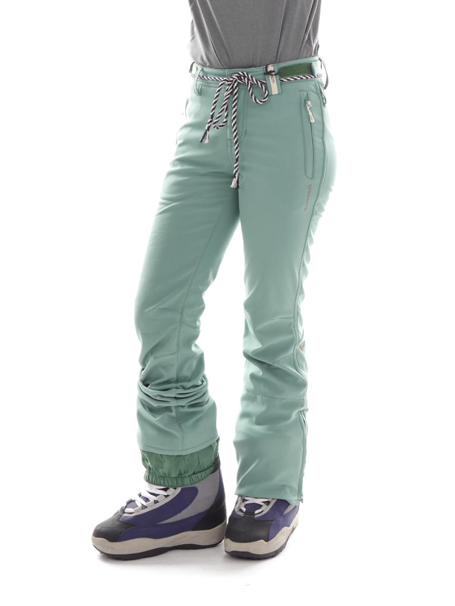 Brunotti Skihose Snowboardhose Softshellhose grün Tavorsy Skinny Fit