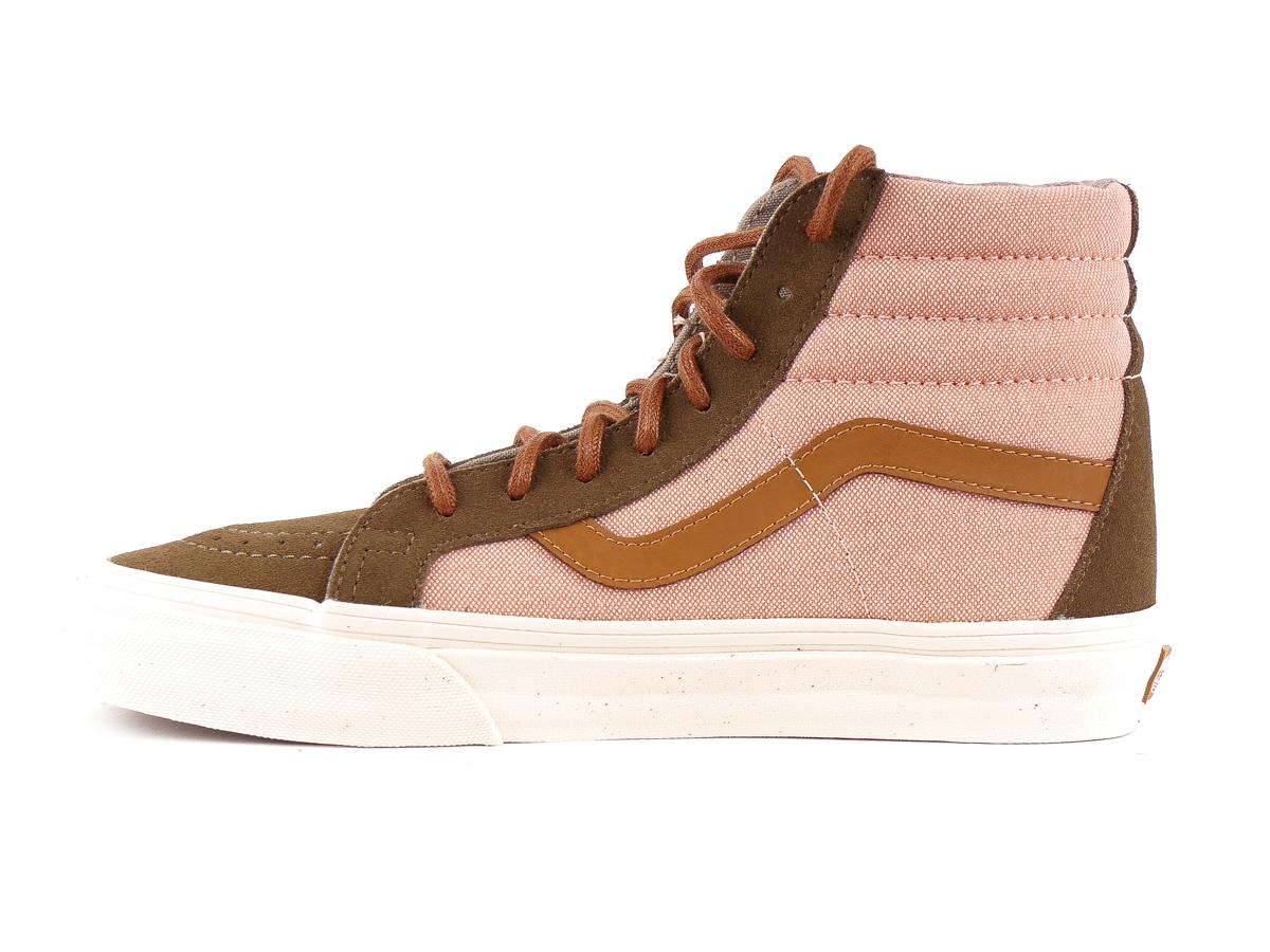 4ea7332a26bc29 Vans Ankle Shoe Trainers High Sneaker Rosa Sk8-Hi Reissue DX