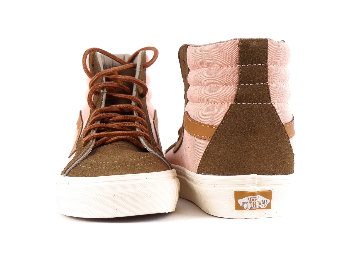 e6accfc0bf994a Vans Ankle Shoe Trainers High Sneaker Rosa Sk8-Hi Reissue DX