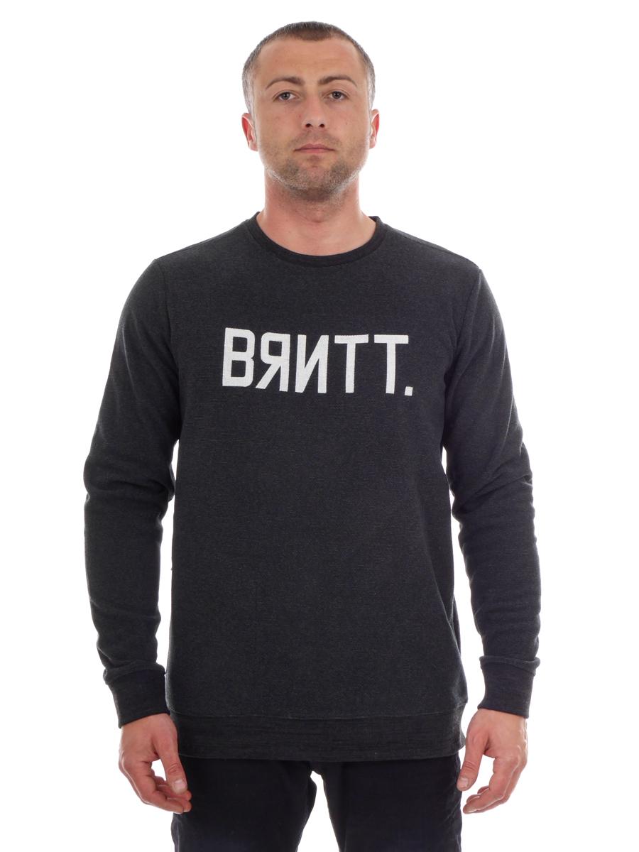 Details about Brunotti Sweat Sweater Top Black Upwind Crew Neck Insulating