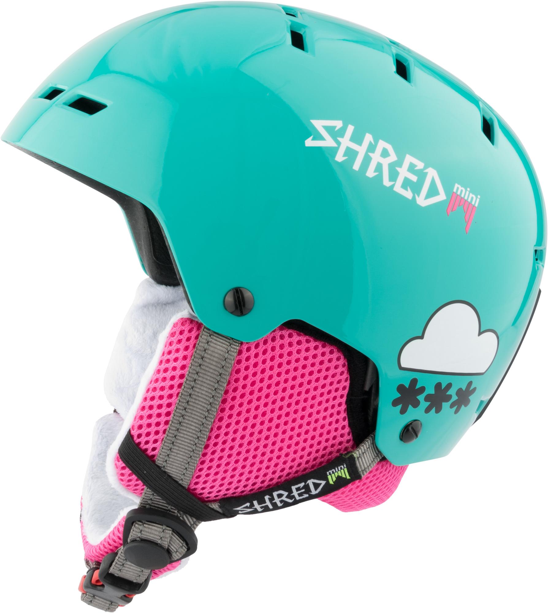 Shred ski helmet snowboard helmet of green bumper Noshock Slytech X-static® 65a6f0d23f2