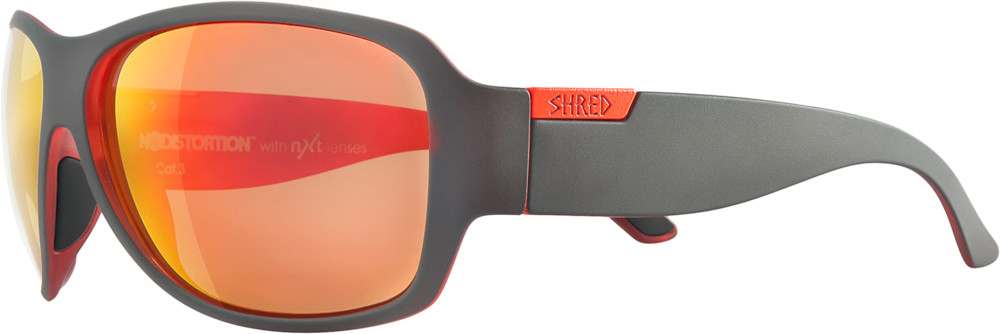 Shred Sonnenbrille Sunglasses braun Belushki Muster Nodistortion™