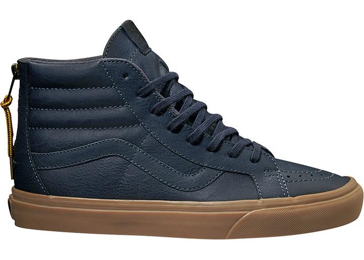 vans ankle shoe high sneaker leather shoe blau sk8 hi reissue zip ebay. Black Bedroom Furniture Sets. Home Design Ideas