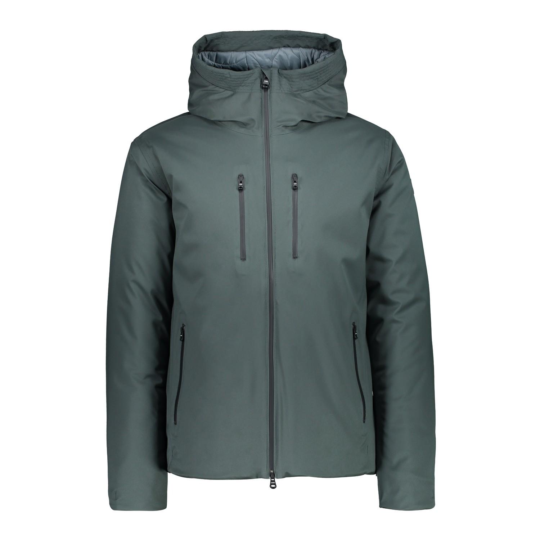 CMP hidrófuga chaqueta Man mid Jacket fix Hood verde viento densamente twill