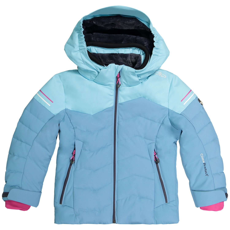CMP Veste Ski Veste D/'hiver Neige Veste Bleu Clair Respirant Coupe-vent