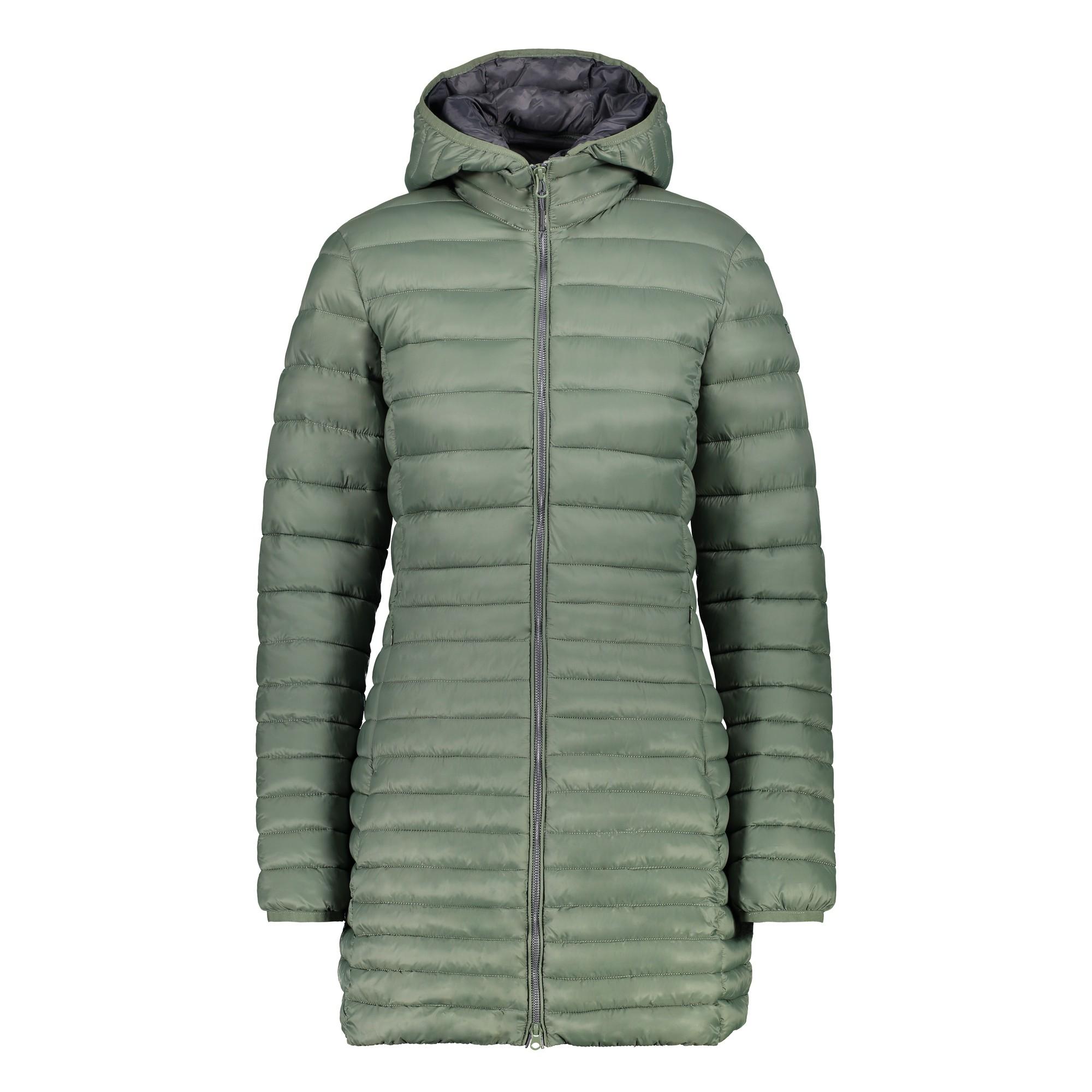 Zu Woman Grün Parka Wärmend Jacke Details Cmp Zip Hood Outdoorjacke Winddicht kZuTOXwiPl