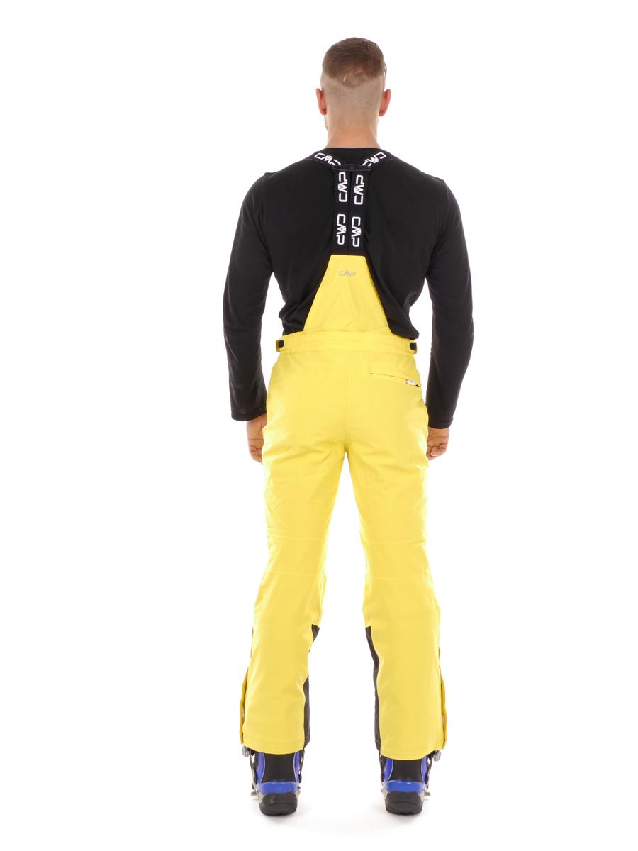 CMP Sci Snowboard Pantaloni Man Pant Giallo vento di tenuta triete impermeabile triete tenuta 3c11a8