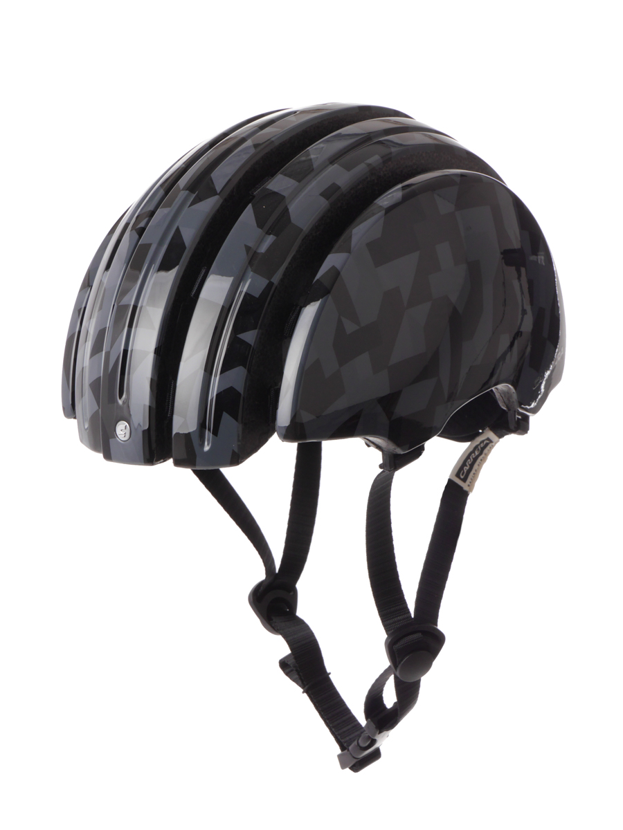 Carrera Fahrradhelm Helm Schutzhelm rot Foldable GTE dehnbar