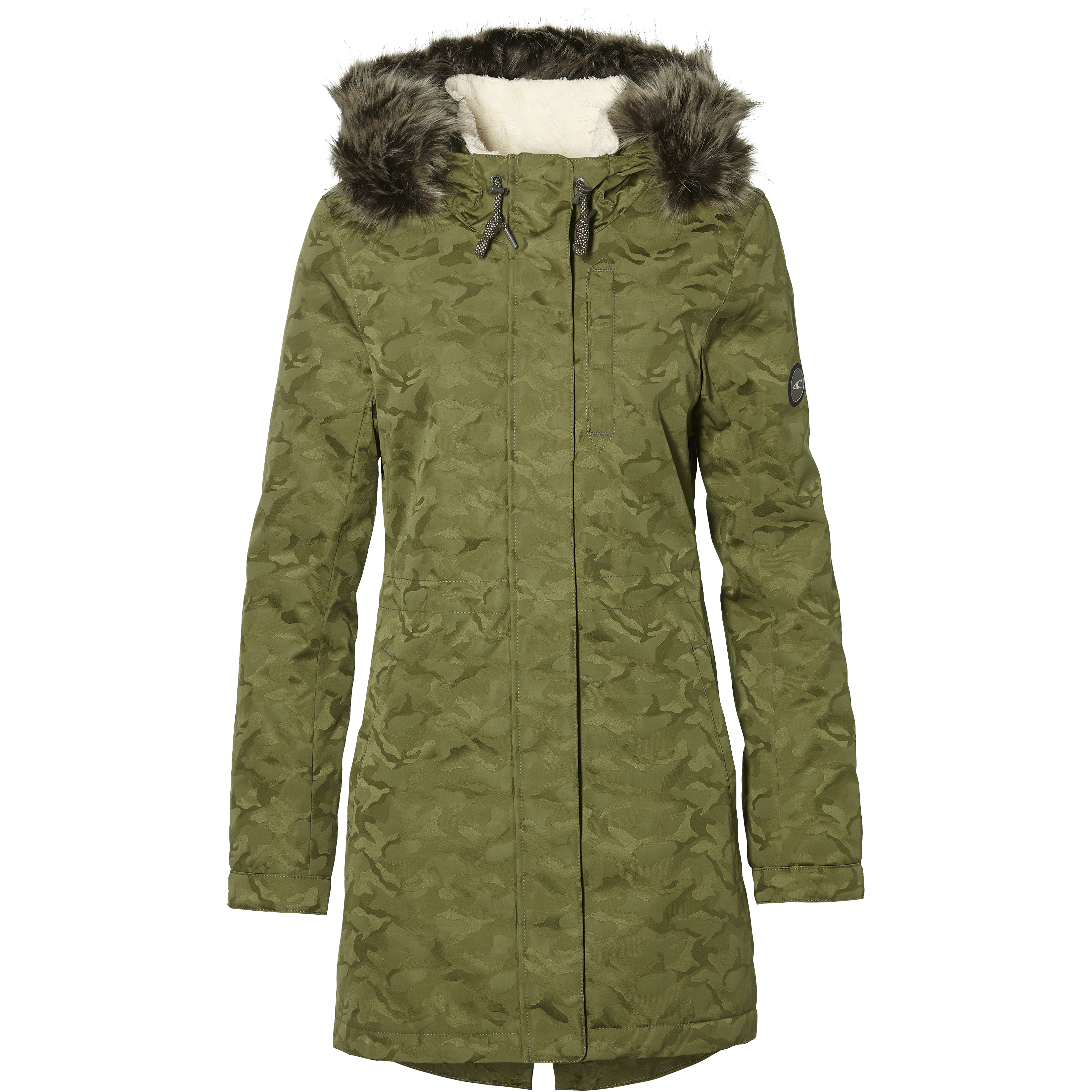 Parka Dark Lw O'neill Green Jacke Smooth Funktionelle Frontier MzGqUpSV