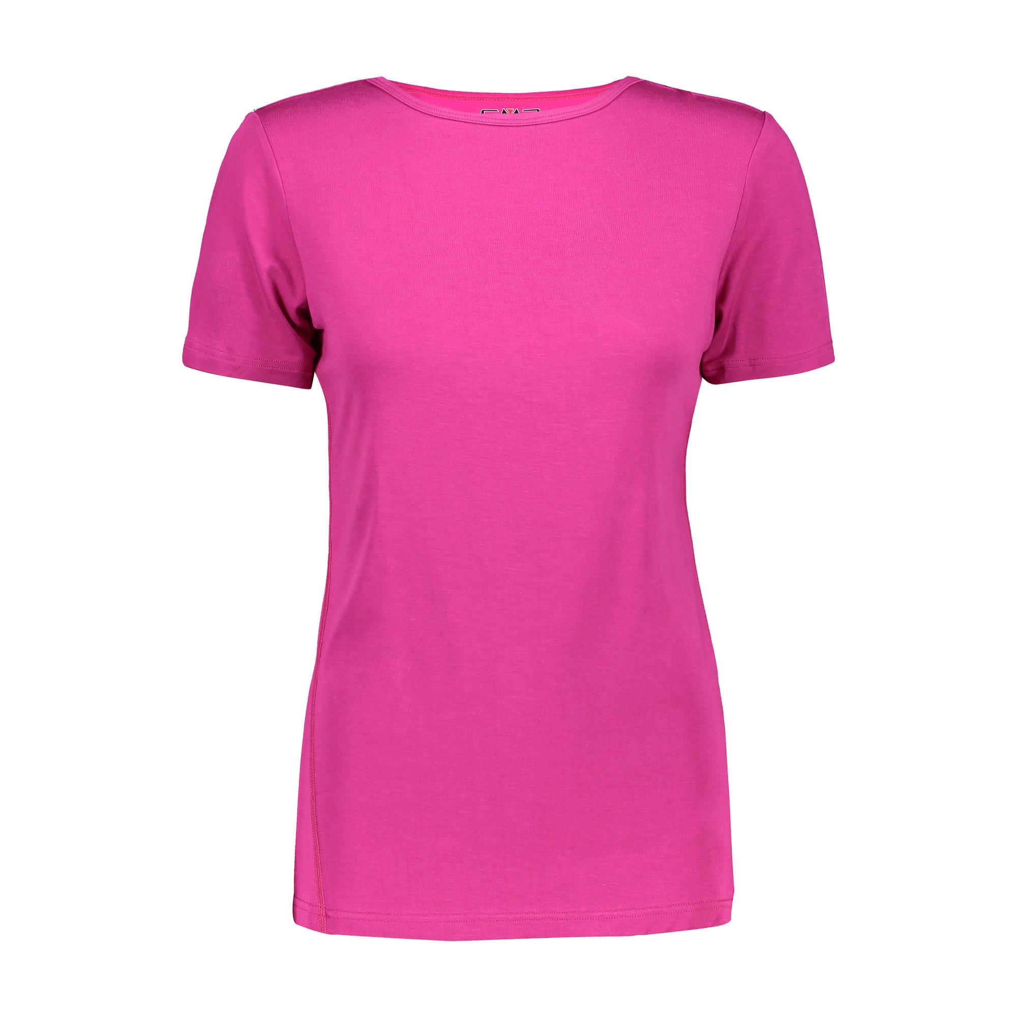 CMP FUNKTIONSOBERTEIL FUNKTIONSHIRT Woman T-Shirt ROSA ATMUNGSAKTIV