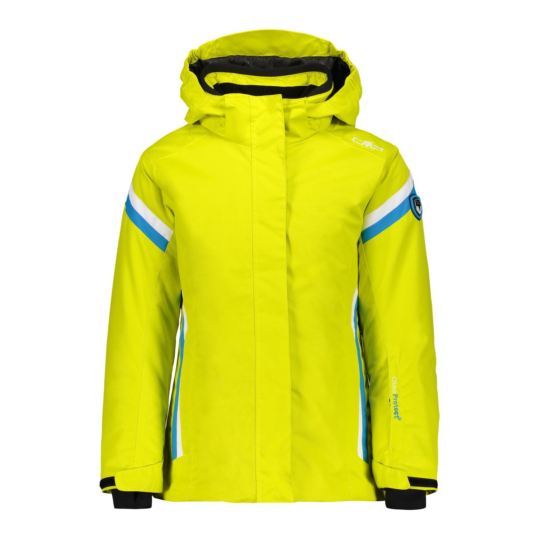 Details zu CMP Ski Set Skijacke und Skihose Kids Kinder Mädchen blau gelb 3000 Wassersäule